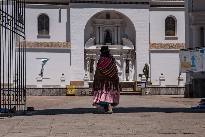Basilica of Our Lady of Copacabana in Bolivia