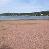 The beach in Grand Marais