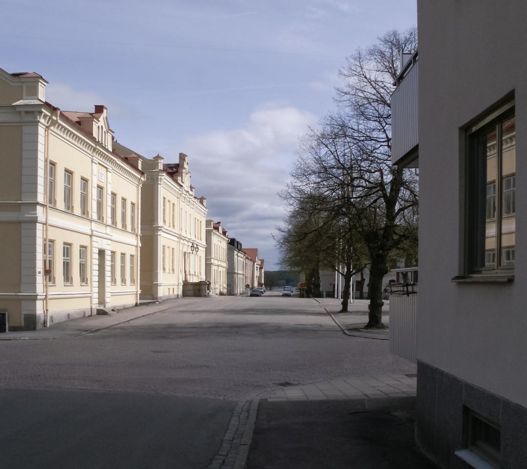Klostergatan/Kyrkbrinken. 2007 May 1 @ 14:30