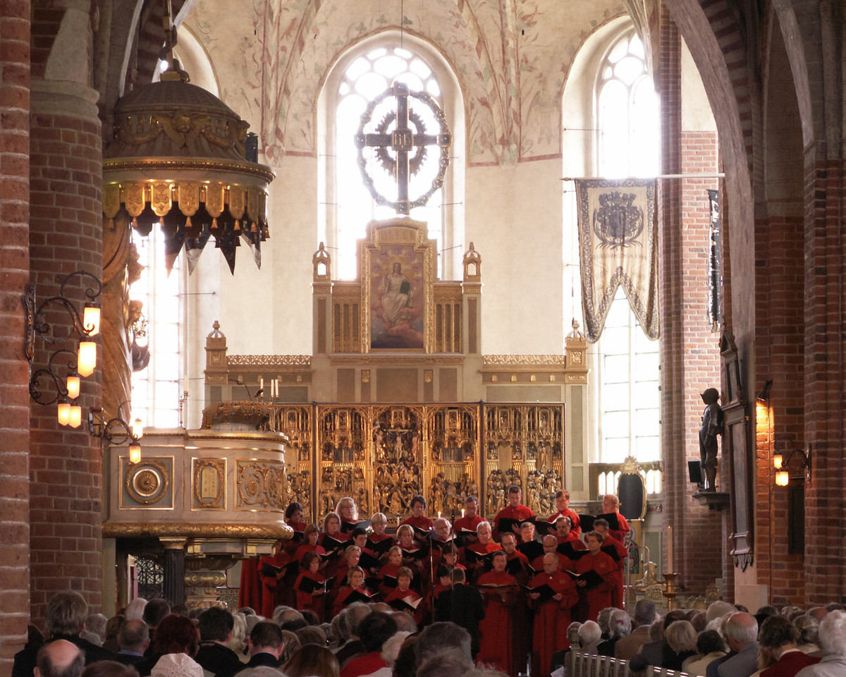Strängnäs domkyrka (cathedral). 2007 May 20 @ 16:06