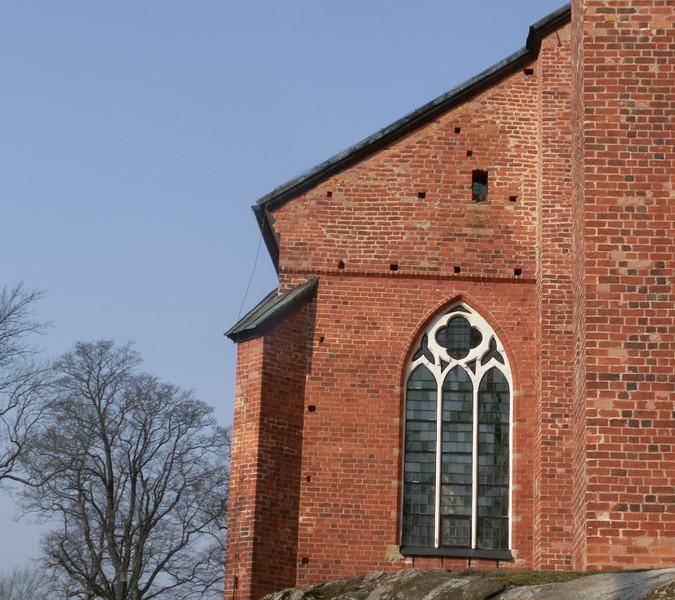Strängnäs domkyrka (cathedral). 2007 March 30 @ 10:10