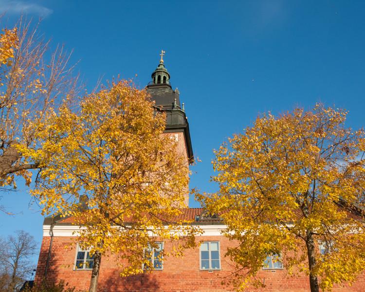Strängnäs domkyrka (cathedral). 2008 Oct 17 @ 16:22