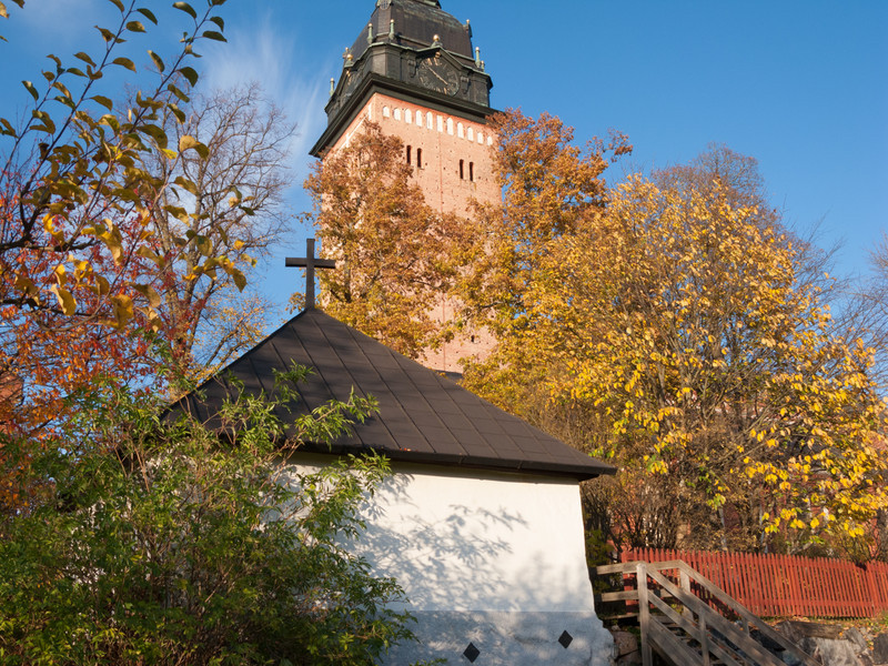 Strängnäs domkyrka (cathedral). 2008 Oct 17 @ 16:18
