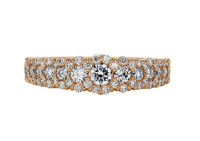 Strömdahls Juveler http://www.stromdahl.se  08 24 04 65 Ring i 18K guld med 65 diamanter 1,00 ct  Pris 56.000 kr