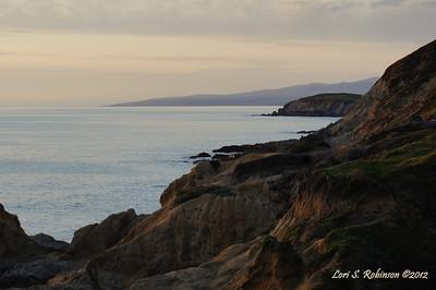 Bodega Head at Twilight. Unshopped.