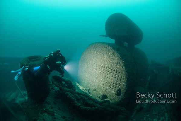 Diving the Mineapolis shipwreck