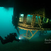 Scuba diving on the SS Cedarville in the Straits of Mackinac
