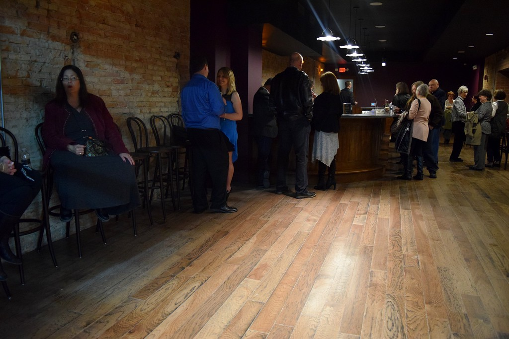 . Charlene�s Theater Bar at the Flagstar Strand Theatre for the Performing Arts on its opening night with the Russian National Ballet Theatre at 12 N. Saginaw St. in Pontiac on Monday, Jan. 23, 2017.