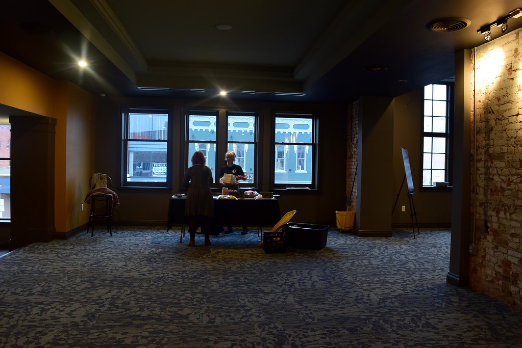 . Upstairs at the Flagstar Strand Theatre for the Performing Arts on its opening night with the Russian National Ballet Theatre at 12 N. Saginaw St. in Pontiac on Monday, Jan. 23, 2017.