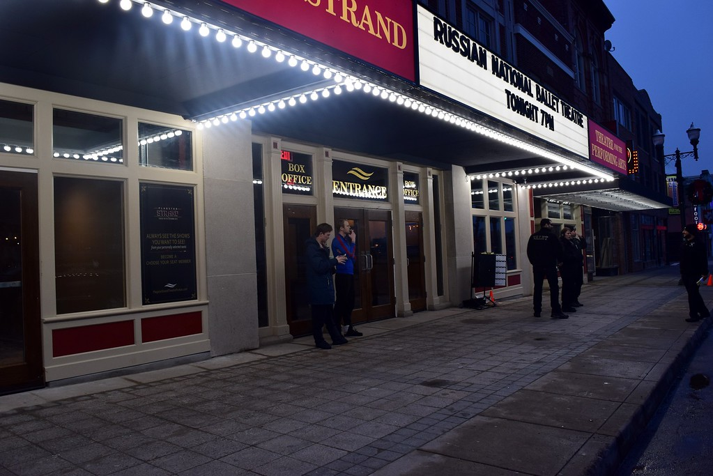 . The Flagstar Strand Theatre for the Performing Arts on its opening night with the Russian National Ballet Theatre at 12 N. Saginaw St. in Pontiac on Monday, Jan. 23, 2017.