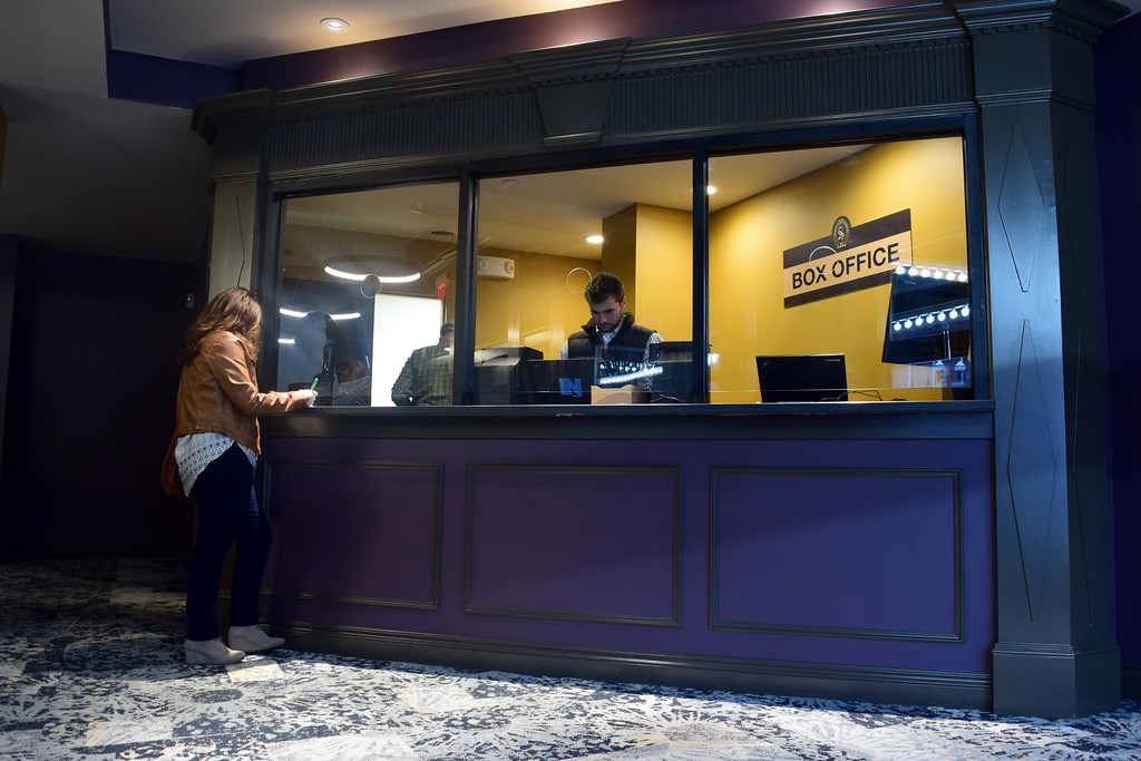 . The box office at the Flagstar Strand Theatre for the Performing Arts on its opening night with the Russian National Ballet Theatre at 12 N. Saginaw St. in Pontiac on Monday, Jan. 23, 2017.