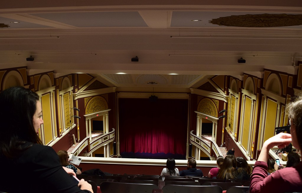 . Inside the Flagstar Strand Theatre for the Performing Arts on its opening night with the Russian National Ballet Theatre at 12 N. Saginaw St. in Pontiac on Monday, Jan. 23, 2017.