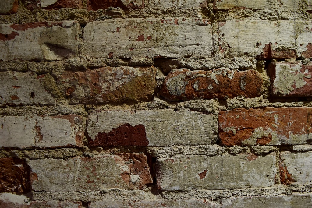 . Exposed brick lines the walls at the Flagstar Strand Theatre for the Performing Arts on its opening night with the Russian National Ballet Theatre at 12 N. Saginaw St. in Pontiac on Monday, Jan. 23, 2017.
