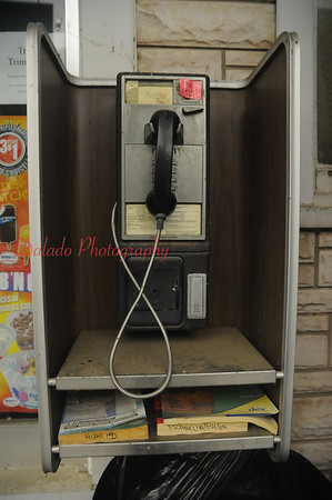 This is odd in itself. A public telephone in southwestern Pa.