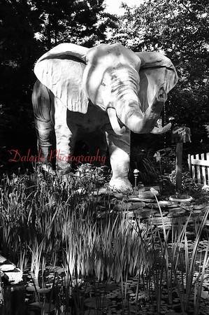 Ed's Elephant Museum along Rt. 30 near Gettysburg.