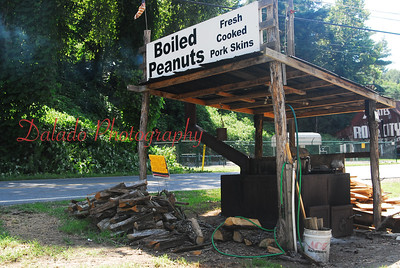 Boiled peanuts, a must have.
