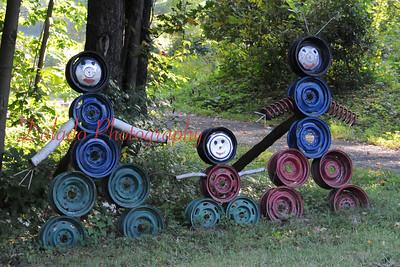 A wheel rim family in western Pa.