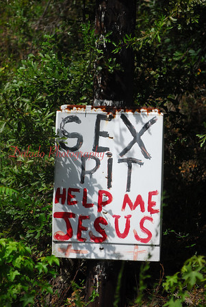 """This place called """"Cross Yard"""" was created by a man who passed away a few years ago. I heard of this place, near Montgomery, Al., from a Web site that features weird places on the road..."""