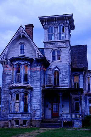 Creepy building in Wellsboro, Pa.