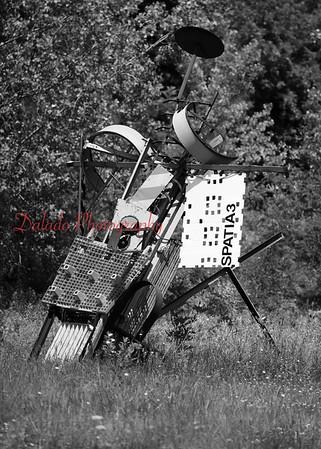 Yard art near Geneva, N.Y.