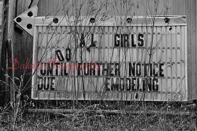 """Girls, girls, girls!"" near Bloomsburg."