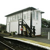 Girvan Signal Box [Via Train Window]