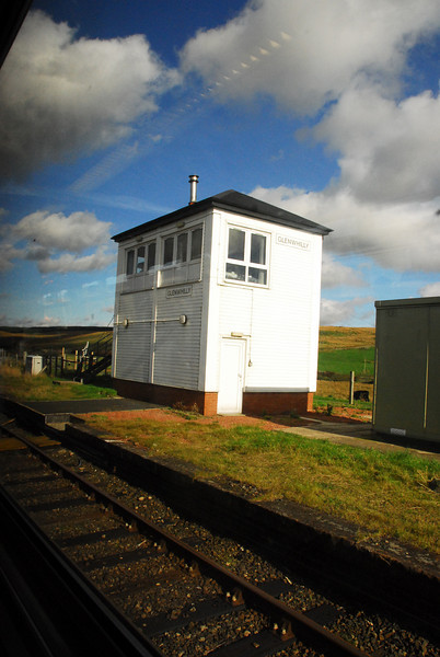 Genwhilly Signal Box [photo Via train window]