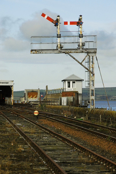 Stranraer Signal Box and Signals