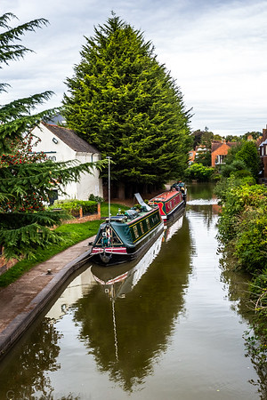 Stratford upon Avon ( 3 ) Canal Boats