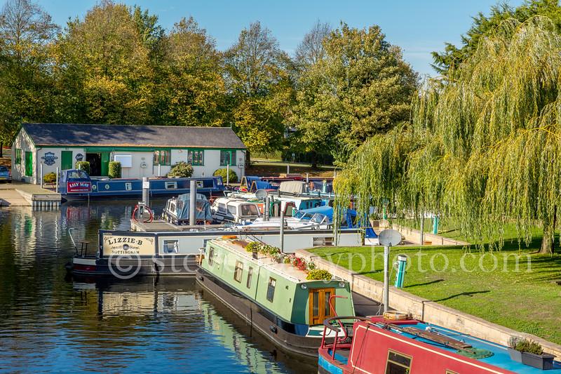 Riverboats Docked at Stratford