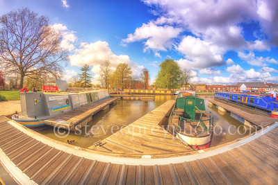 Riverside Docks in Stratford upon Avon