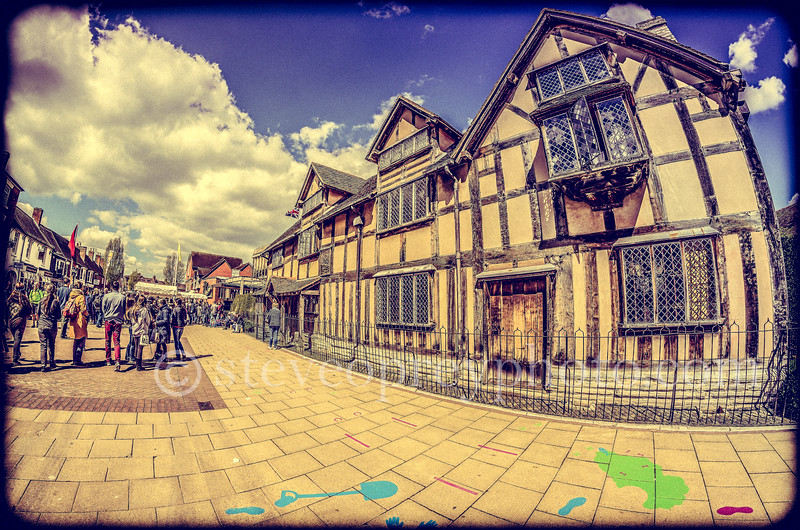 Shakespeare's Birthplace Arty View