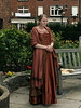Shakespearean-actress-doing-a-scene-from-Shakespeare-at-Shakespeare's-birthplace-4,-Stratford-upon-Avon