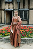 Shakespearean-actress-doing-a-scene-from-Shakespeare-at-Shakespeare's-birthplace-5,-Stratford-upon-Avon