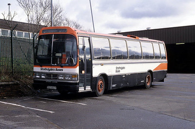 SBL C12 Possilpark Depot Feb 92