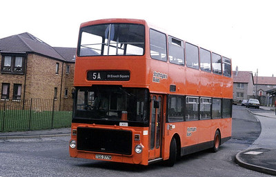 SBL A001 Castlemilk Bus Stn Mar 90