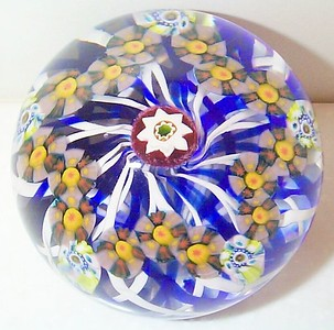 Experimental Millefiori Weights
