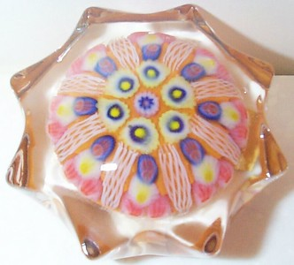 P12 Millefiori Star Medium or Small