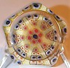 PSF82DS Millefiori Spoke 5&1 Facets : This is the signed and dated portion of the PSF82 catagory showing those pwts in this series that were actually signed and dated and the ones I've found that are are etch signed and dated such as this one shown which has Strathearn 1976 etched on the base. I suspect that the 100 piece per year for these faceted pwts includes both those not signed and dated and those actually etch signed and dated and I can only hope that some people were able to save the authentication card but I'm not to hopeful as not many cards are showing up.