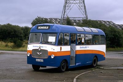 Strathtay_Clydeside Hire SS1 Braehead Car Park Renfrew Sep 88