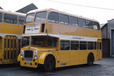 Strathtay T1 Dundee Bus Stration Apr 89