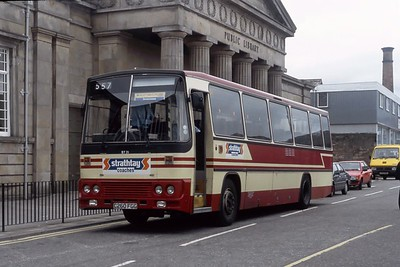 Strathtay ST21 Inverness Bus Station May 91