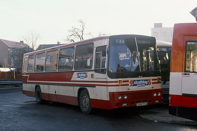 Strathtay ST21 Perth Bus Station Dec 89