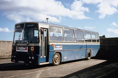 Strathtay ST23 Aberdeen Bus Station Mar 90