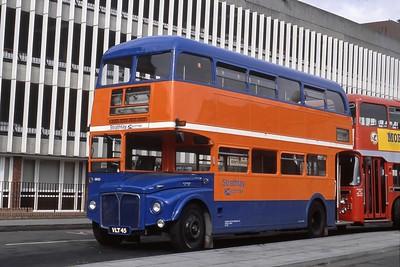 Strathtay_Highland Hire SR23 Inverness Bus Station Sep 88