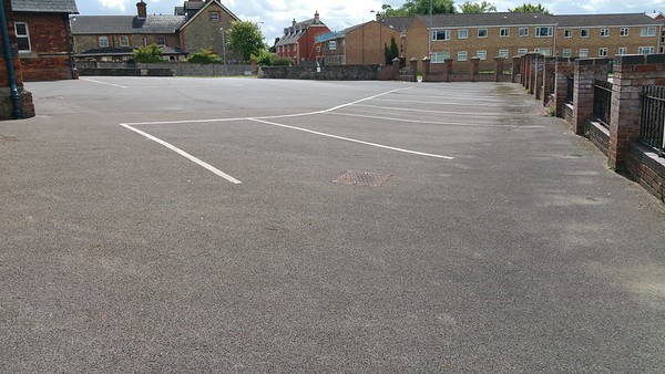 Former playground,now a car park.
