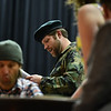 """(04/08/18 FITCHBURG MA) Joshua Weidenhamer acts out his role as """"Froggy"""" during Sunday's dress rehearsal at the Applewild School in Fitchburg for the Stratton Players upcoming production.  SENTINEL & ENTERPRISE JEFF PORTER"""