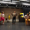 (04/08/18 FITCHBURG MA) The Stratton Players run through lines for their upcoming production at the Applewild School in Fitchburg.  SENTINEL & ENTERPRISE JEFF PORTER