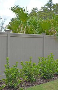 Adobe Streaked Lakeland Fence with Maxwell Rail