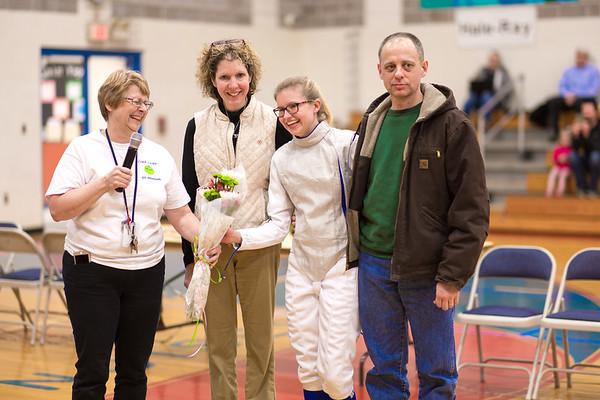 Second from right, Sarah Gieseler, Senior